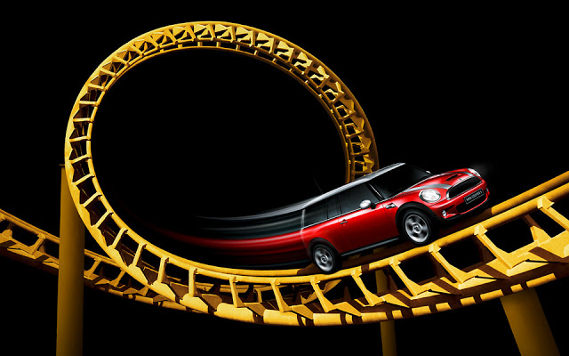 car on roller coaster - creative-photography-3