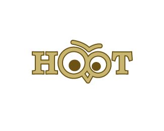 Hoot eye logo design