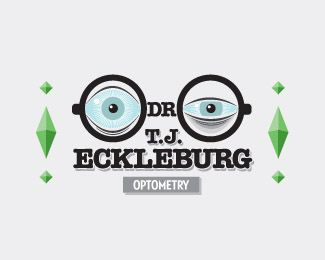 Dr. Eckleburg eye logo inspiration