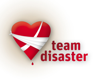 Team Disaster - Heart Logo