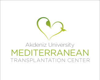 Mediterranean Transplantation Center - Heart Inspired Logo