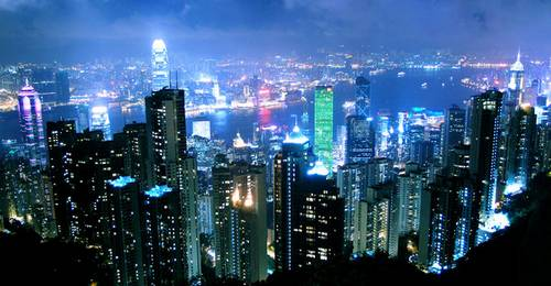 Night at Hong Kong 2 by ~Alexkcl