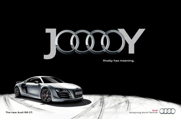 Jooooy Finally Has Meaning Print Ad For Inspiration