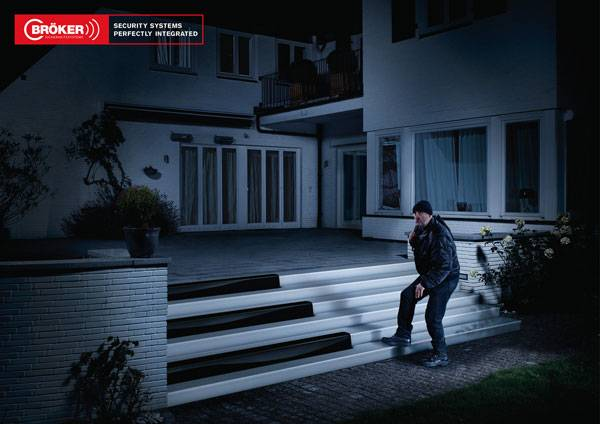 Br?ker Security Systems: Security Systems Perfectly Integrated Print Ad For Inspiration