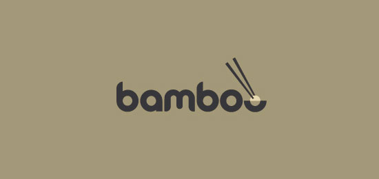 bamboo Food Inspired Logo Design