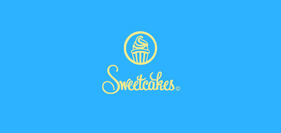 Sweet cakes logo design