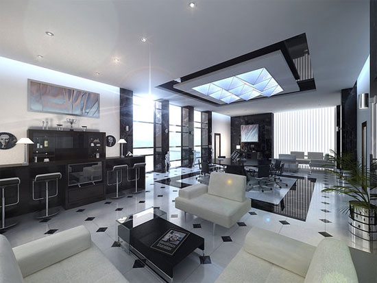 Stunning 3D Interior Design For Inspiration - ^