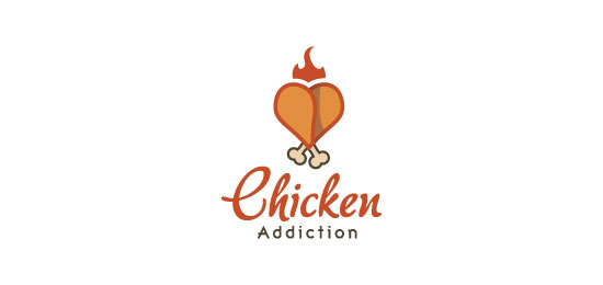 Chicken food logo - photo#8