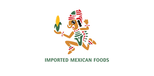IMPORTED MEXICAN FOODS Logo Design