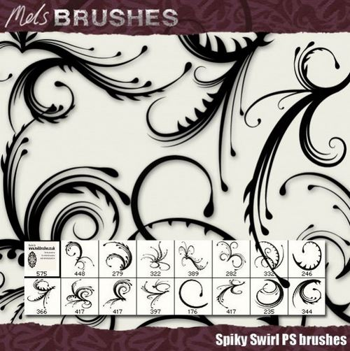 swirl brush