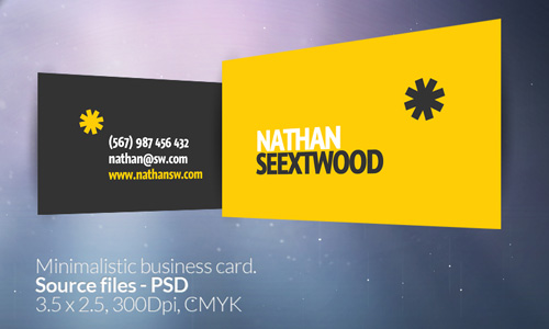 Seextwood business card free business card template