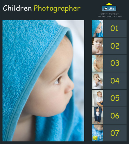 Children Photographer free facebook template