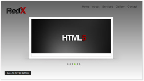 RedX HTML5 and CSS3 Template - HTML5 And CSS3 Templates