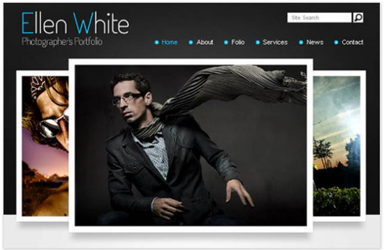Photographer's Portfolio - HTML5 And CSS3 Templates