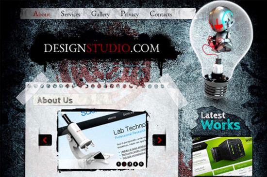DesignStudio - HTML5 And CSS3 Templates