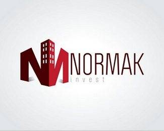 building inspired logo design