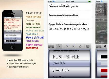 Font Dresser Free - fonts iphone apps