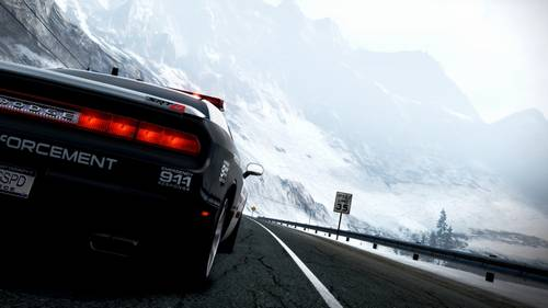 NFS Hot Pursuit Police Car Wallpaper games hd wallpaper
