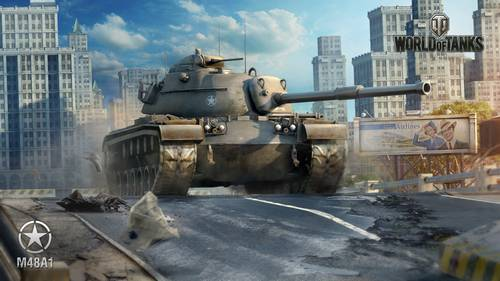 World of Tanks M48A1 Wallpaper games hd wallpaper