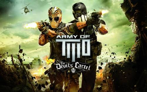 Army of Two The Devils Cartel (2013) games hd wallpaper
