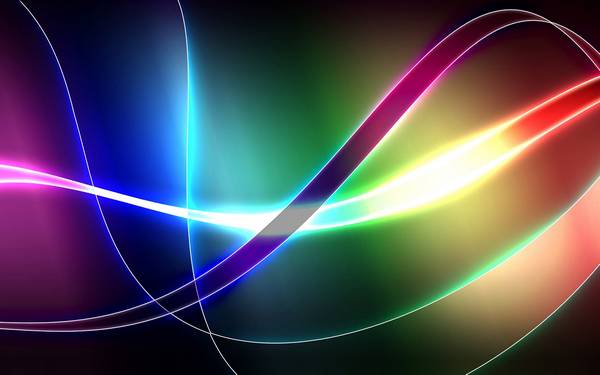 abstract lights - Wallpaper