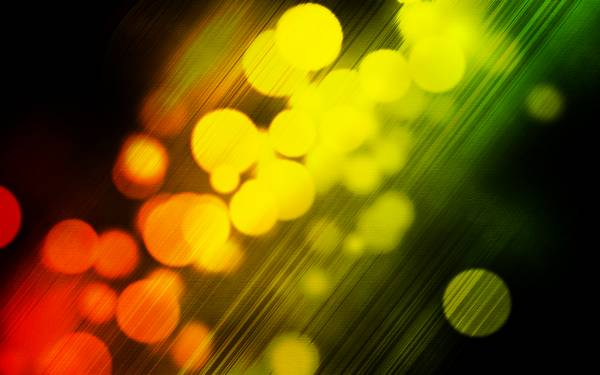 lights bokeh - Wallpaper