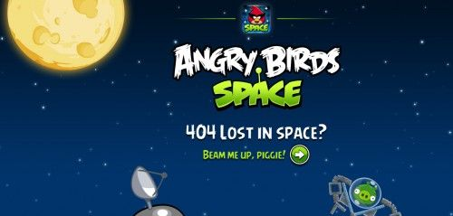 Space AngryBirds