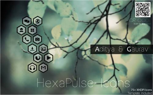 HexaPulse Icon Pack