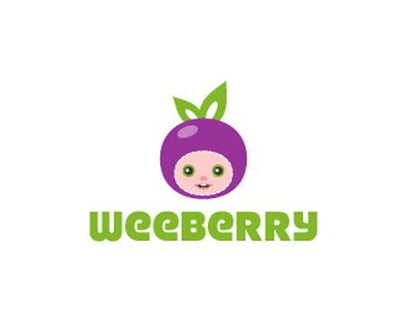 baby logo : WeeBerry by tanami