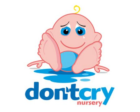 baby logo : dontcry by applex