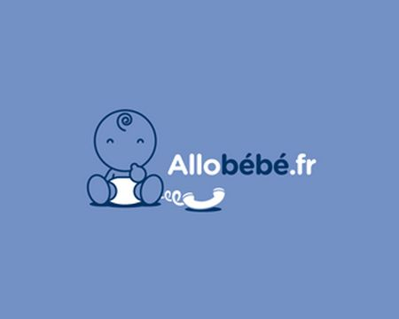 baby logo : Allobébé by Whoswho