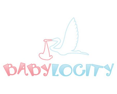 baby logo : Babylocity by beautifullybusy