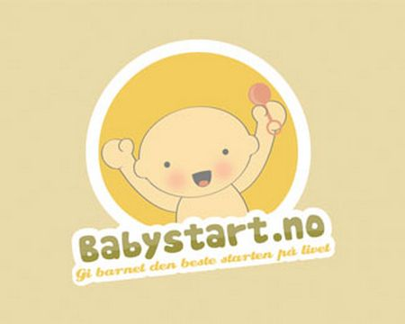 baby logo : Baby Start by OneGiraphe