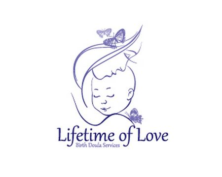 baby logo : Lifetime of Love by Pim
