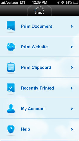 Breezy Print and Fax - Best Fax Sending Apps for iPhone and Android