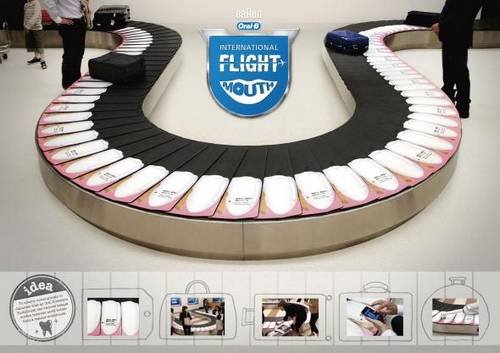 Oral-B: International Flight Mouth