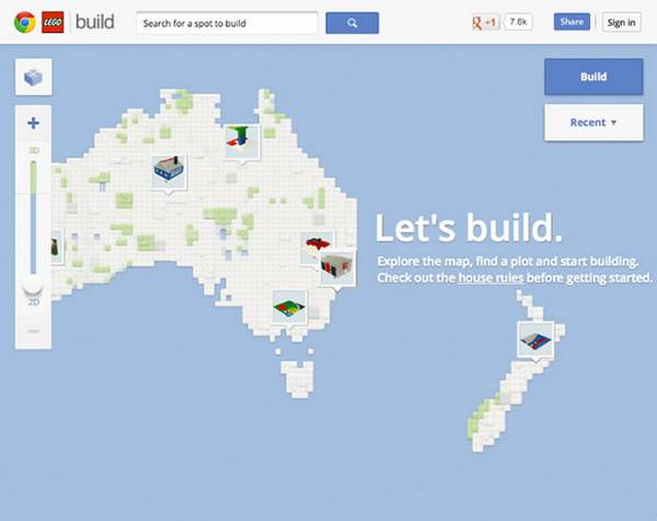 Build with Chrome – Lego