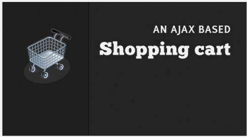Ajax Based Shopping Cart With PHP, CSS & Jquery