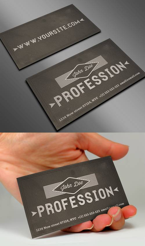 Vintage Business Card II