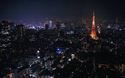 Japan  Tokyo  cityscapes