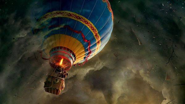 movies fantasy art air balloons