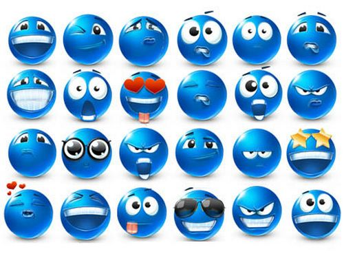 Emoticons 40 smilies Icons BY Artdesigner