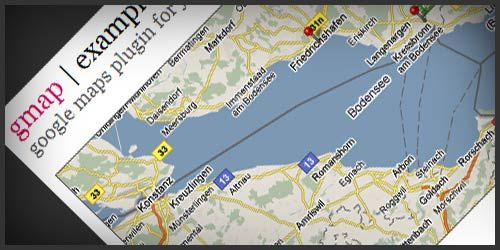 gMap jQuery Google Maps by Cedric Kastner