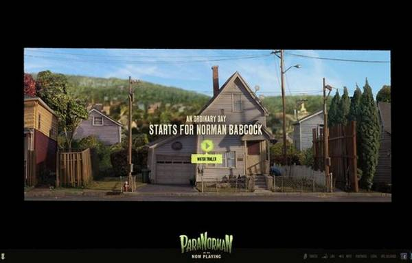 HTML5 websites : Paranorman