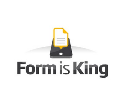 Form is King - mobile phone logo