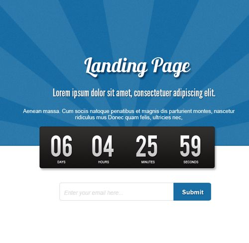 How to Create a Minimalist Coming Soon Page in Photoshop