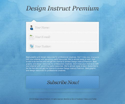 """Design a Textured """"Coming Soon"""" Web Page in Photoshop"""