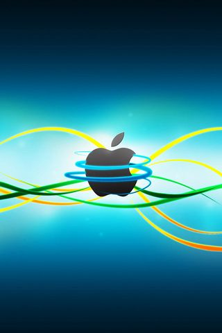 Line Apple iPhone Wallpaper