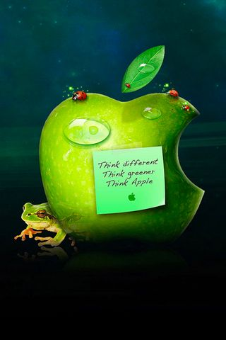 Real Apple iPhone Wallpaper