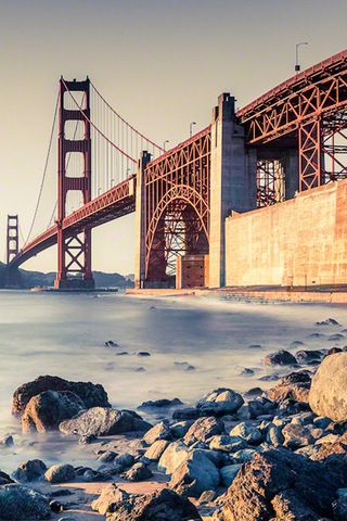 Golden Gate Bridge iPhone Wallpaper